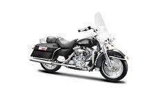 Harley DAVIDSON 1999 FLHR road king 1:18 Noir-Die Cast Model