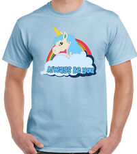 As Worn By The Rock Central Intelligence Movie Mens Unicorn T-Shirt Movie Film