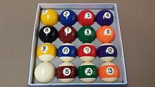 OLHAUSEN PREMIUM GRADE A New Billiard Pool Ball Set Standard Size 2 1/4""