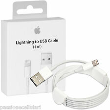 Cavo USB ORIGINALE Apple Lightning Per iPhone 5 5S 5C 6S plus iPad iPod 1 METRO