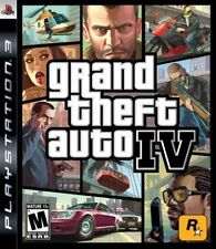 Grand Theft Auto IV GAME GTA 4 GTA4 Sony Playstation 3 PS3 Free Shipping