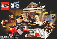 Notice Building instruction booklet LEGO STUDIOS / set  1352 Explosion Studio