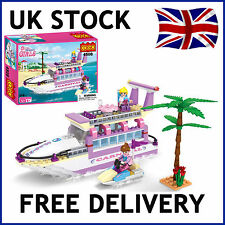 NEW 2016 GIRLS FRIENDS PRINCESS BOAT SHIP CRUISE BUILDING BRICKS BLOCKS 318 PCS