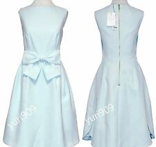 TED BAKER LONDON Mint Nahad Bow Waist Detail Dress Size 3 (US 8) $315
