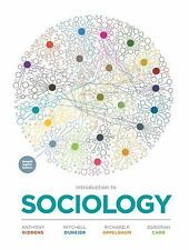 Introduction to Sociology by Anthony Giddens, Deborah Carr, 8th Edition