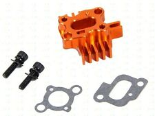 CNC baja losi series heat-type carburetor intake seat black, silver, orange