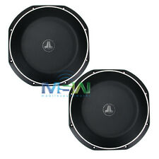 "(2) JL AUDIO 12TW1-4 12"" TW1 THIN-LINE SHALLOW MOUNT CAR SUBWOOFERS SUBS *PAIR*"