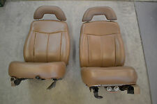 CHEVROLET BLAZER GMC JIMMY S-10 S-15 TRAILBLAZER LEATHER TRUCK  BUCKET SEATS