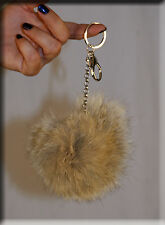 New Coyote Fur Key Chain - Extra Large Size - Efurs4less