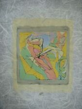 Jacques Villon Original Color Lithograph