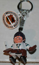 VINTAGE 1988 ANAHEIM MIGHTY DUCKS LIL SPORTS BRAT DISNEY GOALIE KEYCHAIN