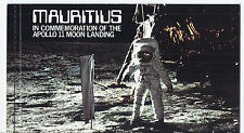 1979 Mauritius MI 477-479 - Apollo 11 Moon Landing Self Adhesive Booklet*