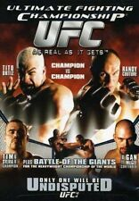 Ultimate Fighting Championship 44 - Undisputed (DVD, 2004)