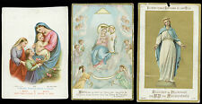 lotto santini-holy cards lot-lot images pieuses-konvolut heiligenbildichen 2508
