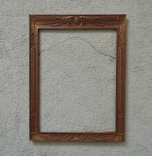 Art Deco Picture Frame Gilt Wood & Gesso Vintage Nouveau for Painting Print
