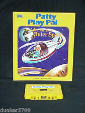 PATTY PLAY PAL DOLL BOOK/TAPE AN ADVENTURE IN OUTER SPACE 1987 WORKS