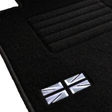 4 TAPIS SOL MOQUETTE LOGO FLAG UK SPECIFIQUE MINI 2003-2006 R50 R53