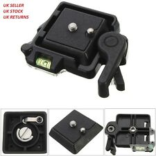 QR-40 Compact Camera Stand Quick Release Adapter Clamp Plate Mount Screw Base