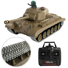 1:16 2.4G RC US M26 Pershing Tank Smoke & Sound Remote Control Upgrade Version