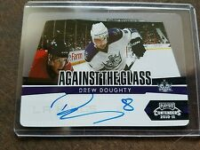 Drew Doughty PANINI 2010-11 Against the Glass Auto 38/50