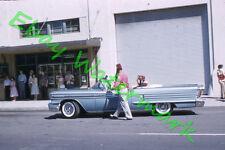 1958 Oldsmobile Ninety-Eight Convertible Shriners Original 58 Kodak 35mm Slide