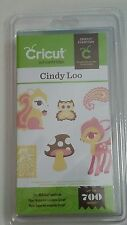 CRICUT ART CARTRIDGE CINDY LOO - UP TO 700 IMAGES - FREE PRIORITY SHIPPING