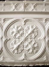 33-feet Antique Vintage Gothic Ceiling Tin Metal Sheets Border Tiles Panel Wall