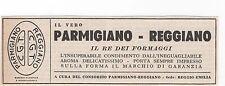 Pubblicità vintage PARMIGIANO REGGIANO FORMAGGIO advertising werbung publicitè