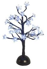 35cm 24 LED Battery Powered Cherry Blossom Tree w White LED Indoor Xmas Lights