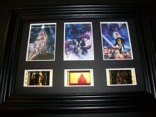 STAR WARS Framed Trio Movie Film Cell Memorabilia Collectible Gift Cinema