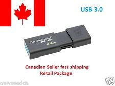 Kingston 32GB 32G 32 USB 3.0 DataTraveler DT 100 G3 USB Flash Drive(DT100G3-32)