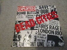 """THE EXPLOITED dead cities UK 7""""EP GBH discharge casualities varukers"""