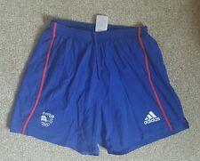Official Olympic Team GB medium length shorts ATHLETE ISSUE Rare. 2008 Beijing