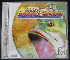 Sega Bass Fishing Dreamcast DC Video Game 1999