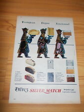 Original old advert. of the 60s - Briquets à gaz Silver Match