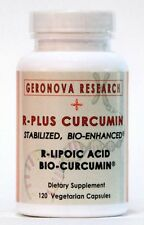 R-PLUS Curcumin - Bio-Enhanced R-Lipoic Acid plus Bio-Curcumin - 120 veg caps
