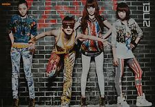 2NE1 - A3 Poster (ca. 42 x 28 cm) - Band Clippings Fan Sammlung NEU