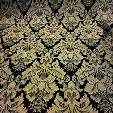 """Damask Jacquard Brocade Flower Floral Fabric 118"""" By the Yard - MANY COLORS!"""