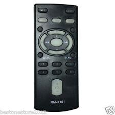 NEW Car CD Remote RM-X151 FOR SONY CDX-F5000 CDX-F5005X CDX-F50M CDX-F5500