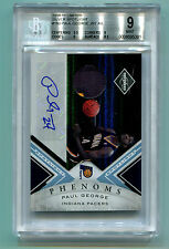Paul George 2010 Limited Silver Spotlight #6/25 Auto 2 clr patch RC BGS 9 Mint