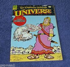 Larry Gonick 1979 Rip Off Press Comic Cartoon History Of The Universe #4