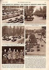 1936 London News April 25 - Hitler Birthday celebrations; Gainesville GA tornado