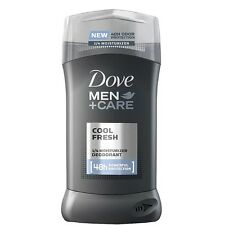 Dove Men + Care Invisible Solid Deodorant, Cool Fresh 3 oz (Pack of 2)