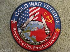 *COLD WAR VETERAN* Patch 1946-1989 Armed Forces Cold War Era Service Veteran