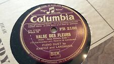 RAWICZ AND LANDAUER VALSE DES FLEURS & SLEEPING BEAUTY WALTZ COLUMBIA FB2188