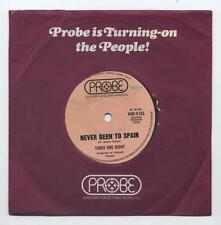 """THREE DOG NIGHT - Never Been To Spain / Peace Of Mind (Australian 7"""" in Co slv)"""