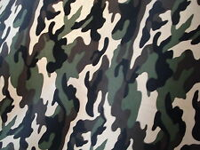 1m CAMOUFLAGE POLESTER COTTON  FABRIC 58INCES WIDE
