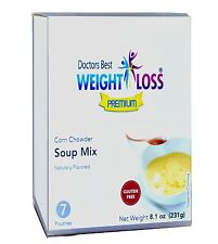 Doctors Best Premium - Corn Chowder High Protein Diet Soup