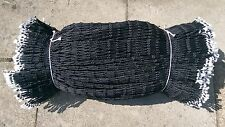 4mm Black Braided Pot Netting Fishing Trawler Nets  FREE DELIVERY
