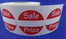 "100 Sales Price Self-Adhesive Labels 1"" Stickers / Tags Retail Store Supplies"
